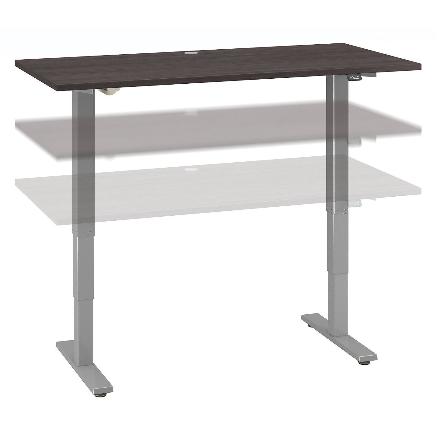MOVE 40 SERIES BY BUSH BUSINESS FURNITURE 60W X 30D HEIGHT ADJUSTABLE STANDING DESK. FREE SHIPPING