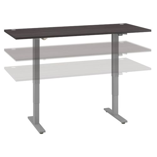 MOVE 40 SERIES BY BUSH BUSINESS FURNITURE 72W X 30D HEIGHT ADJUSTABLE STANDING DESK. FREE SHIPPING