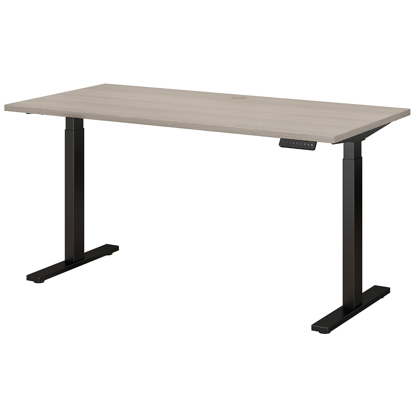 MOVE 60 SERIES BY BUSH BUSINESS FURNITURE 60W X 30D HEIGHT ADJUSTABLE STANDING DESK. FREE SHIPPING