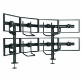 "MULTIPLE MONITOR STAND MOUNTS 4-OVER-4 (24"") MONITORS:</b></font>"