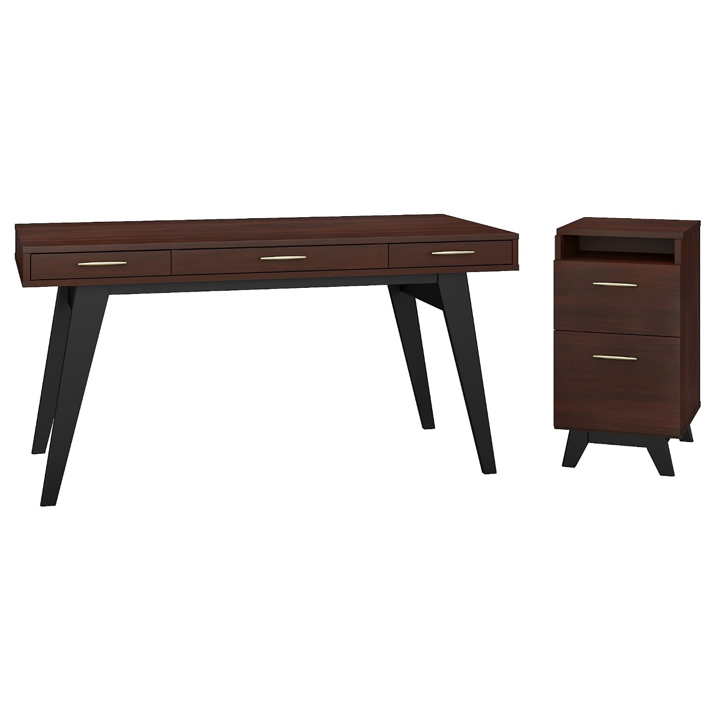 </b></font><b>The kathy ireland� Centura 60W x 30D Writing Desk with 2 Drawer File Cabinet is Sustainable Eco Friendly Furniture. Includes Free Shipping! 30H x 72L x 72W</b></font>  VIDEO BELOW. <p>RATING:&#11088;&#11088;&#11088;&#11088;&#11088;</b></font></b>