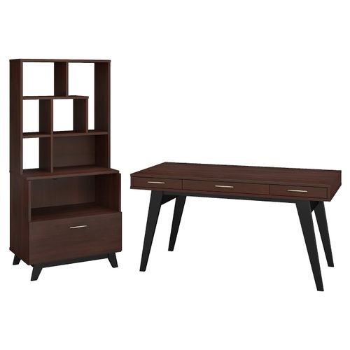 </b></font><b>The kathy ireland� Centura 60W x 30D Writing Desk with Lateral File Cabinet and Bookcase Hutch is Sustainable Eco Friendly Furniture. Includes Free Shipping! 30H x 72L x 72W</b></font>  VIDEO BELOW. </b></font></b>