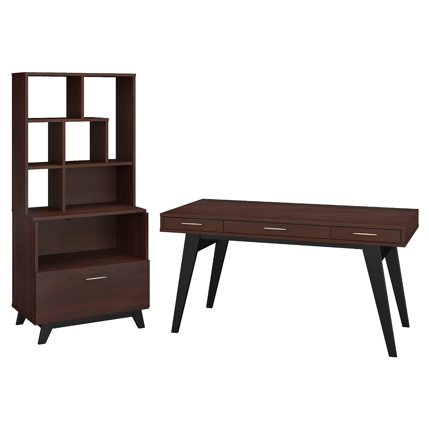 </b></font><b>The kathy ireland� Centura 60W x 30D Writing Desk with Lateral File Cabinet and Bookcase Hutch is Sustainable Eco Friendly Furniture. Includes Free Shipping! 30H x 72L x 72W</b></font>  VIDEO BELOW. <p>RATING:&#11088;&#11088;&#11088;&#11088;&#11088;</b></font></b>