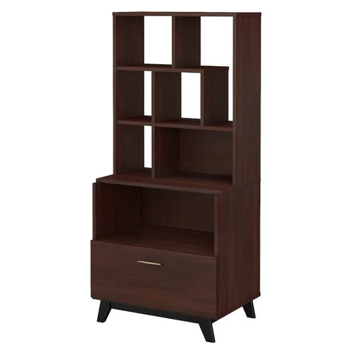 </b></font><b>The kathy ireland� Centura Lateral File Cabinet with Bookcase Hutch is Sustainable Eco Friendly Furniture. Includes Free Shipping! 30H x 72L x 72W</font>. </b></font></b>