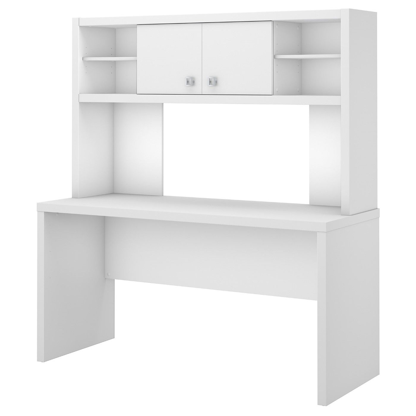 OFFICE BY KATHY IRELAND� ECHO 60W CREDENZA DESK WITH HUTCH. FREE SHIPPING