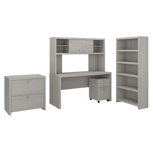 </b></font><b>The kathy ireland� Echo Desk with Hutch, Bookcase and File Cabinets is Sustainable Eco Friendly Furniture. Includes Free Shipping! 30H x 72L x 72W</b></font>  VIDEO BELOW. </b></font></b>