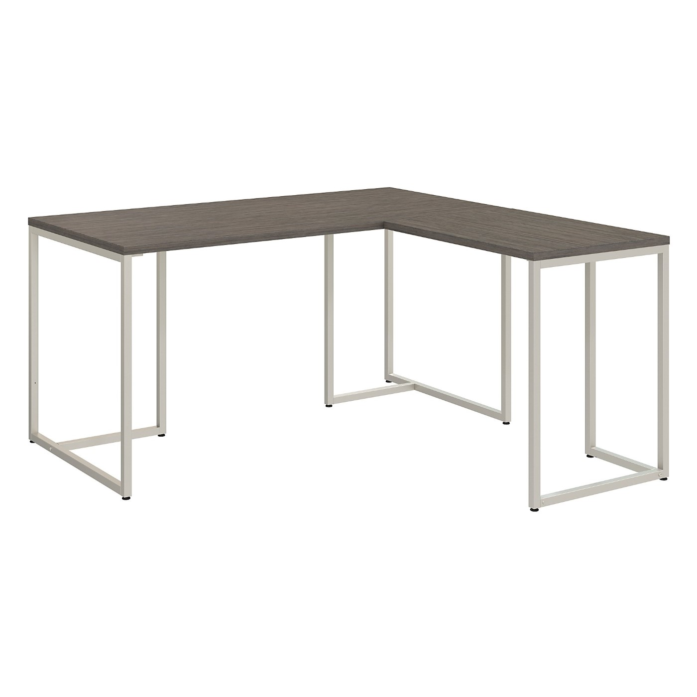 OFFICE BY KATHY IRELAND� METHOD 60W L SHAPED DESK WITH 30W RETURN. FREE SHIPPING