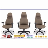 OFFICE CHAIRS - GUEST CHAIRS - STACKING CHAIRS - ERGONOMIC SEATING - FREE SHIPPING: