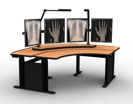<b><font color=#c60>PACS RADIOLOGY FURNITURE. STAND UP DESK:</b></font>