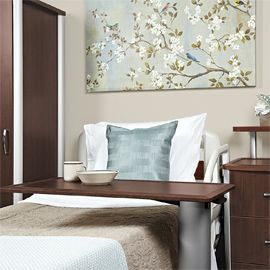 PATIENT ROOM FURNITURE INCLUDING BEDSIDE TABLES, DRESSERS, WARDROBE CABINETS, FOOT/HEADBOARD BOARDS, PLATFORM BEDS