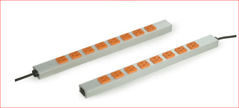 PS-0815: 16 outlet/15 amp 120 volts power strip.