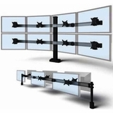 QUAD MONITOR STAND FOR USE FOR MULTIPLE MONITOR STANDS