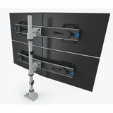 QUAD MONITOR STAND FOR USE FOR MULTIPLE MONITOR STANDS APPLICATIONS W/VESA MOUNTS.