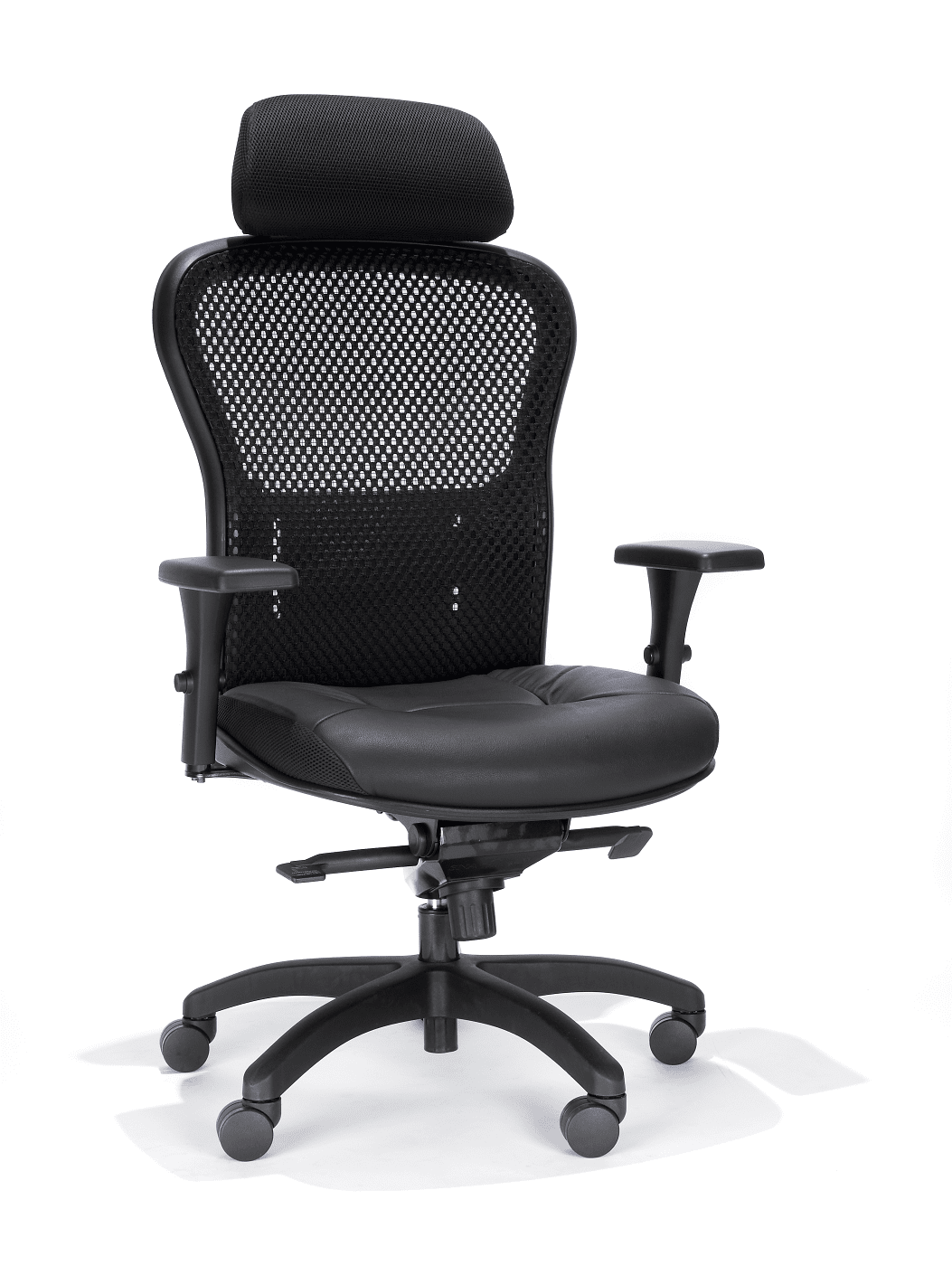 RFM Executive Mesh Chair. Mesh Seat & Back. With Headrest #162Q-68HR.