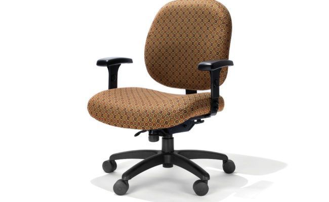 ErgonomicHome.com RFM Metro Heavy Duty Office Chair #2006-25A. Rated up to 500lbs. .