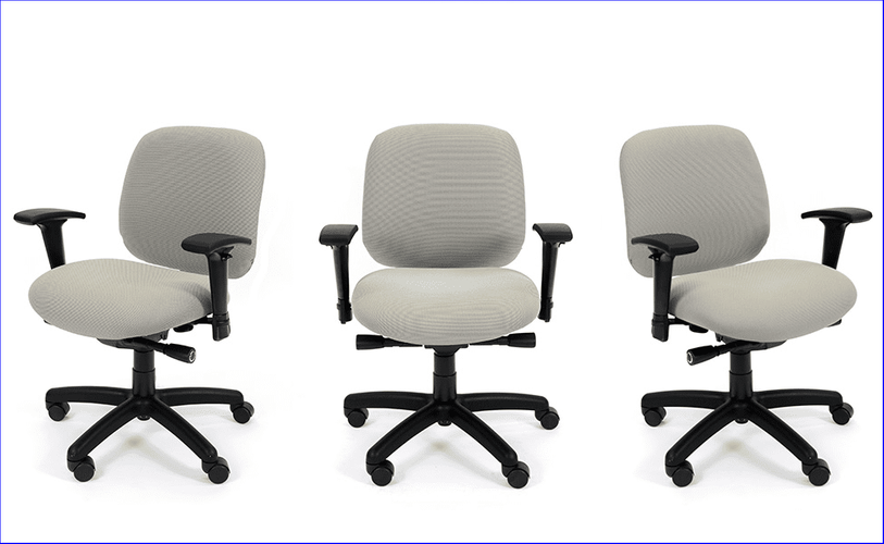 SMALL PETITE ERGONOMIC OFFICE CHAIR: Customize this chair the way you want it.