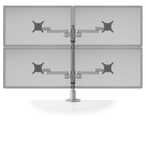 """STAXX MONITOR STAND 4 MONITORS UP TO 30"""" WIDE. FREE SHIPPING. VIDEO:</b></font>"""
