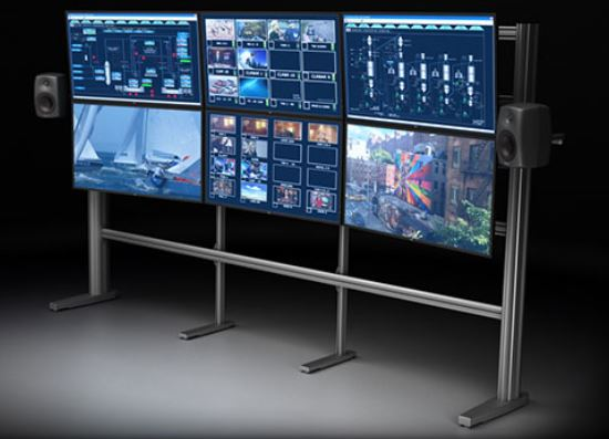 TBC VIDEO WALL - TV WALL MOUNT: IS AN EXCELLENT SYSTEM FOR ORGANIZING A WALL OF MONITORS. MODEL 2