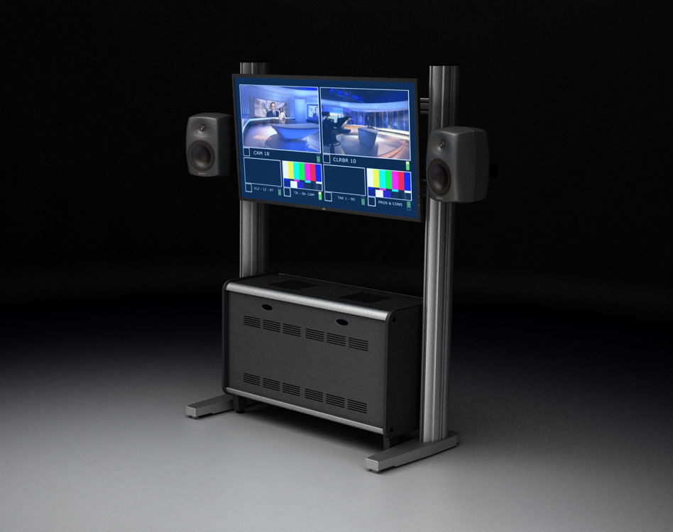 TBC VIDEO WALL - TV WALL MOUNT: IS AN EXCELLENT SYSTEM FOR ORGANIZING A WALL OF MONITORS. MODEL 452554902