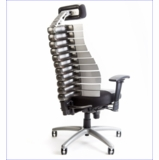 The Verte Chair is the Best Ergonomic Chair Because it Adjusts Automatically With Your Back Movements Providing Comfort to the Bone! Includes Lumbar Support and Adjustable Headrest.
