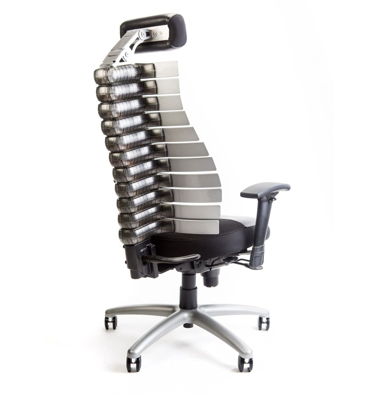 VERTE CHAIR W/SELF ADJUSTING BACK FOR ALL DAY COMFORT ALL THE WAY TO THE BONE! ERGONOMIC HOME HAS YOUR BACK. FREE SHIPPING: