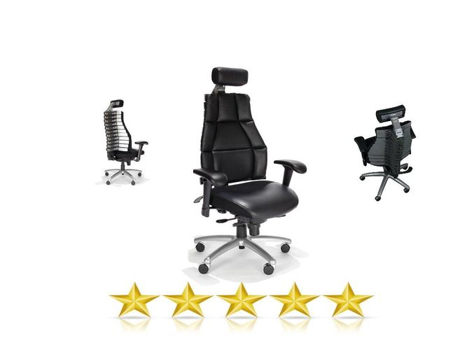 VERTE ERGONOMIC CHAIR. RADIOLOGY CHAIR. ADJUSTABLE BACK. LUMBAR SUPPORT W/ADJUSTABLE HEADREST #22011. ADD TO CART FOR FREE SHIPPING.