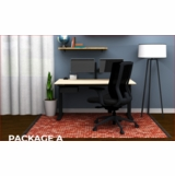WORK AT HOME FURNITURE PACKAGE A. FREE SHIPPING IN 5 DAYS.