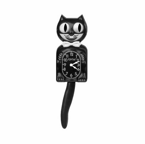 KitCat Clock Black