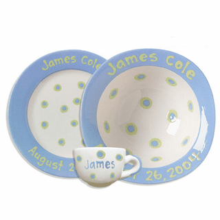 Personalized Baby Dishware