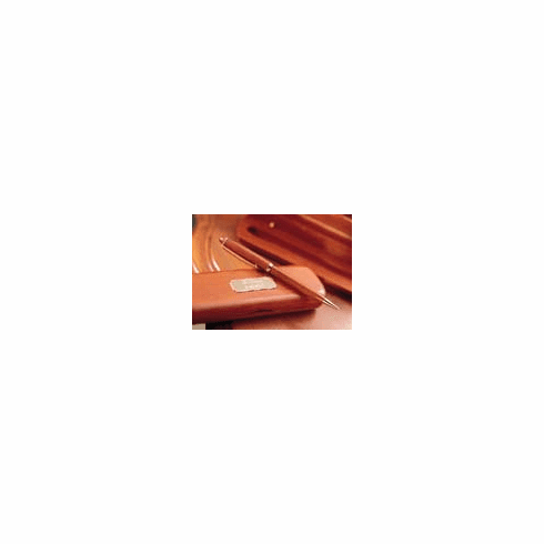 Personalized Geniune Rosewood Pen And Case