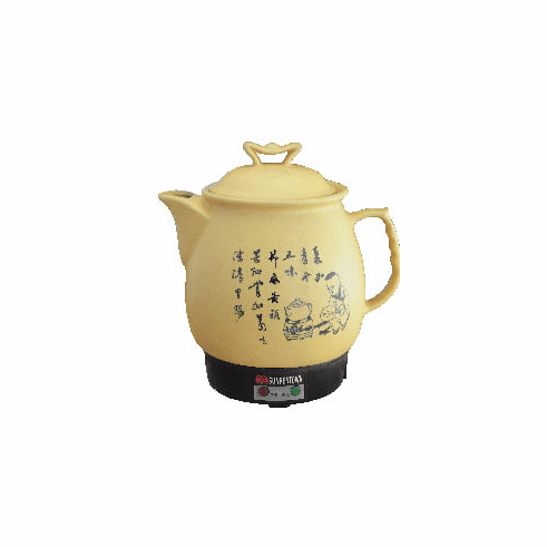 Sunpentown Chinese Medicine Cooker Tan