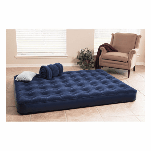 Texsport Deluxe Air Beds with Built In Battery Pump Queen
