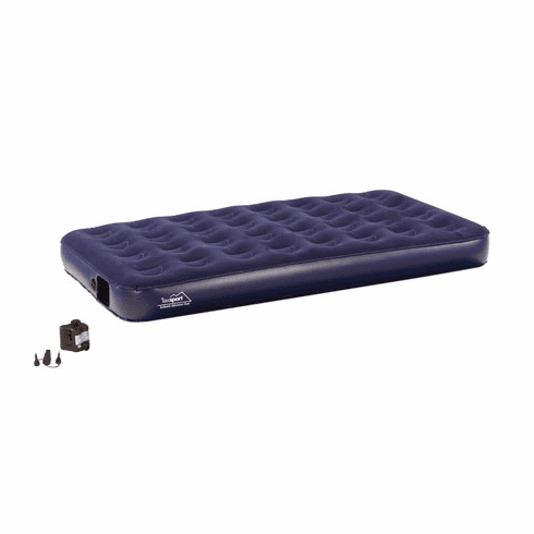 Texsport Deluxe Air Beds with Built In Battery Pump Twin