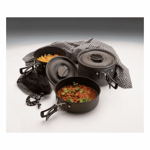 Texsport The Scouter Hard Anodized Cookware Set