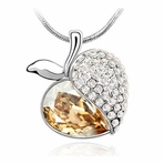 Apple Crystal Necklace