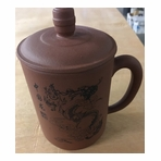 Dragon Yixing Clay Mug