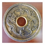 Golden Dragon Cast Iron Trivet