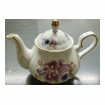 Royal Court Fine Porcelain English Teapot