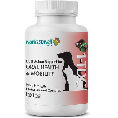TDC-PERIODONTAL-JOINT-HEALTH-DOGS-CATS-120-SOFTGELS-ELITE-VET