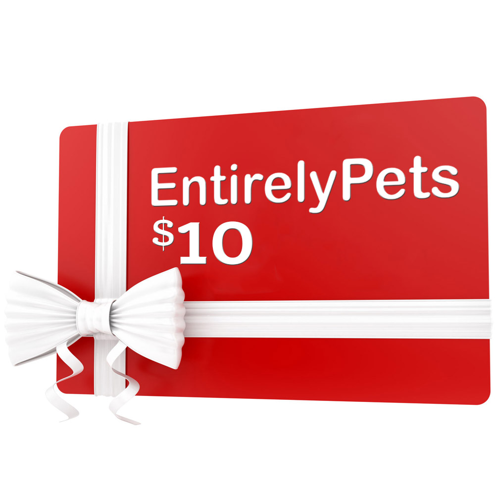 $10 EntirelyPets.com Gift Certificate