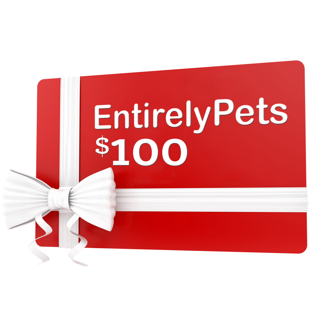 $100 Gift Certificate from EntirelyPets