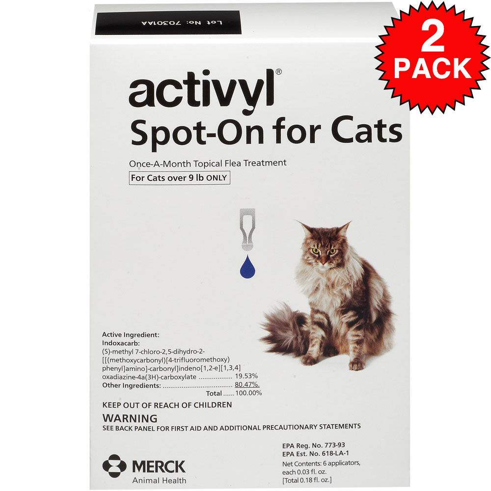 Image of 12 MONTH Activyl Spot-On for Cats (over 9 lbs)