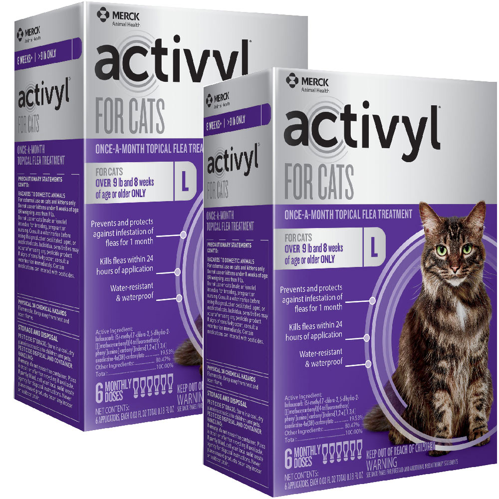 12 MONTH Activyl Spot-On for Cats (over 9 lbs) im test