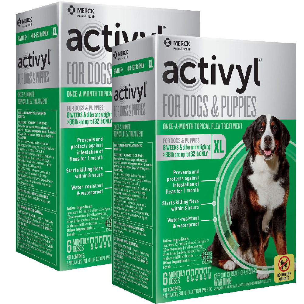 12 MONTH Activyl Spot-On for Extra Large Dogs & Puppies (88-132 lbs) im test