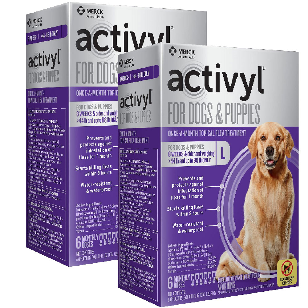 12 MONTH Activyl Spot-On for Large Dogs & Puppies (44-88 lbs) im test