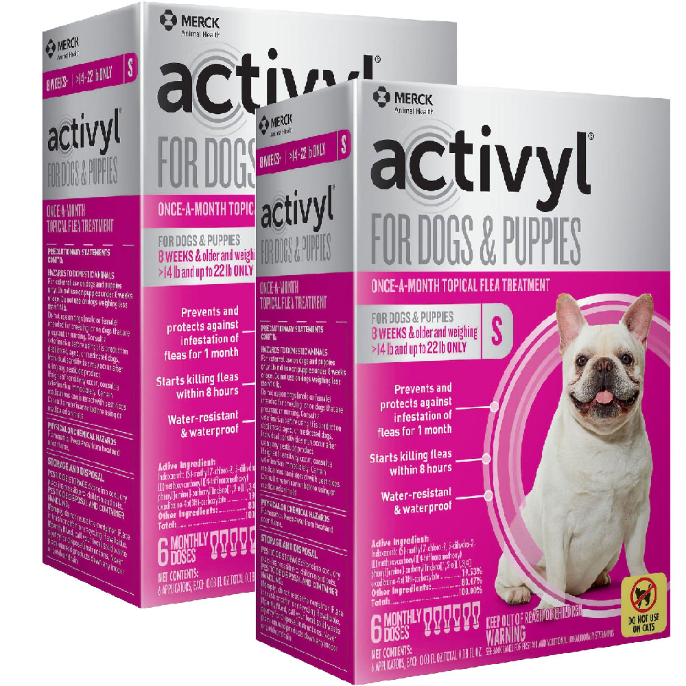 12 MONTH Activyl Spot-On for Small Dogs & Puppies (14-22 lbs) im test