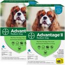 12 MONTH Advantage II Flea Control for Medium Dogs (11-20 lbs)