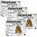 12 MONTH Frontline Top Spot Blue: For dogs 23-44lbs.