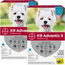 12 MONTH K9 Advantix II TEAL for Medium Dogs (11-20 lbs)