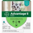 2 MONTH Advantage II Flea Control for Kittens (2-5 lbs)